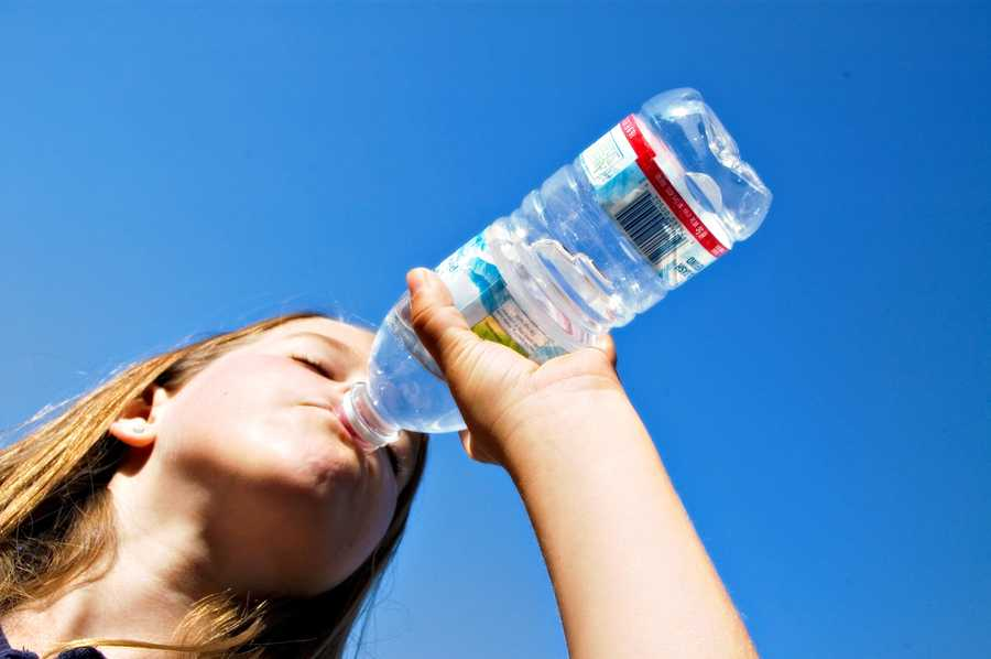 Drink at least six glasses of water a day and that will help keep your appetite down.