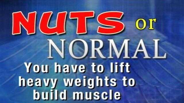 On the Healthbeat,Doctor Barry Ramo talks about if you have to lift heavy weights to build muscle strength.