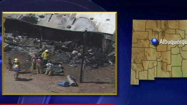 House Explodes In Centeral New mexico