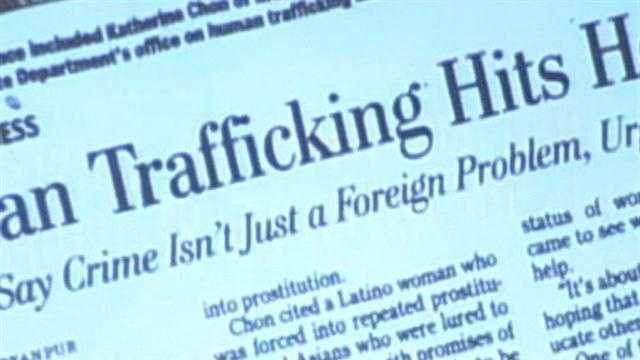 Sex trafficking is one of the fastest growing crimes in the U.S.