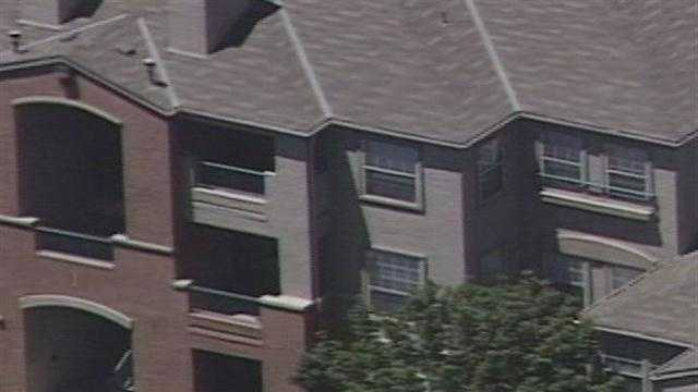 People at a northeast heights apartment complex spent the day on edge after thinking a bomb had gone off.