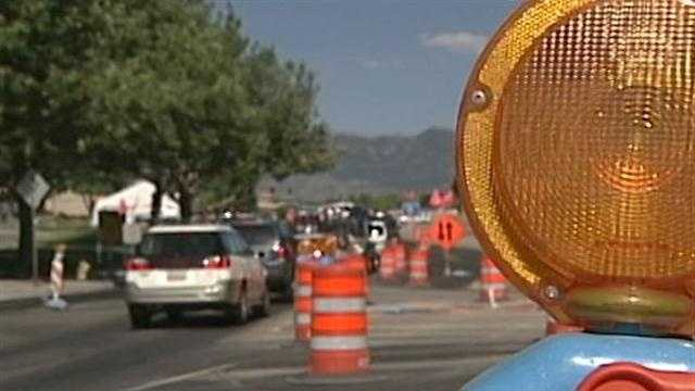 Construction has slowed the commute in areas of the Northeast Heights.