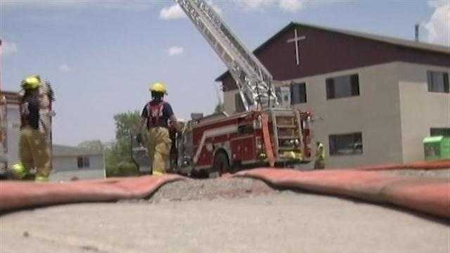Church burned in Los Alamos