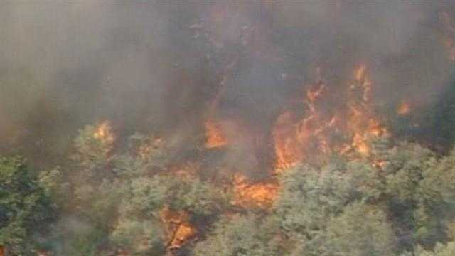 Fake cigarette sparks Bosque Fire