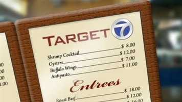 The next time you go to restaurant, imagine your server asking, 'Would you like some germs with that?' It's a gross reality that Target 7 found lurking right beneath your fingers in an undercover investigation.