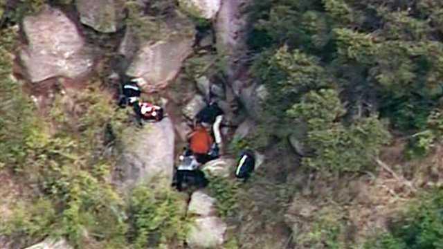 Canyon rescue