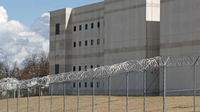 Jail, prison fence
