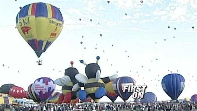 Balloon Fiesta, vendors meet