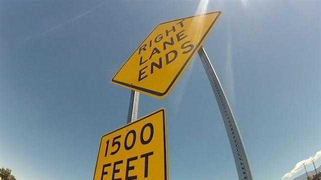 I25 lane story