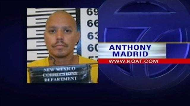 An Albuquerque man is hauled back to prison after the Department of Corrections said he was released too early.