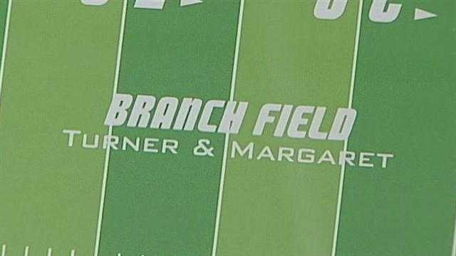 The turf at University Stadium gets a new identity.
