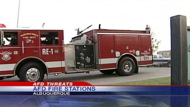 Fire station threats