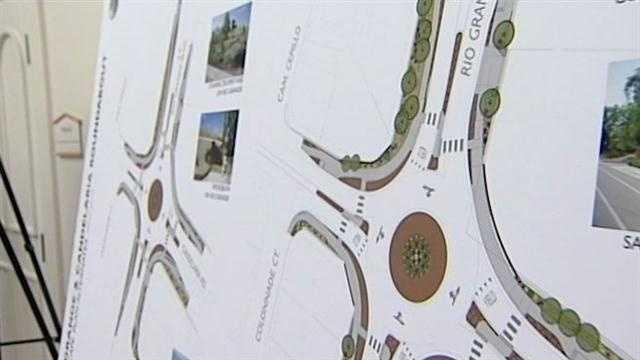 Roundabout spurs debate