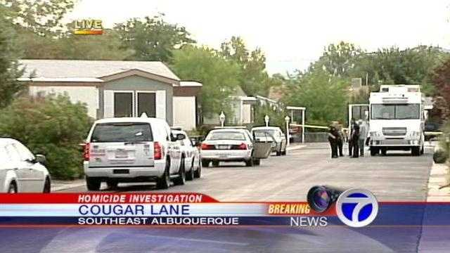 Cougar lane homicide