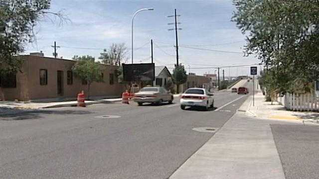 A film shoot will shut down a busy part of downtown Albuquerque on and off for days.