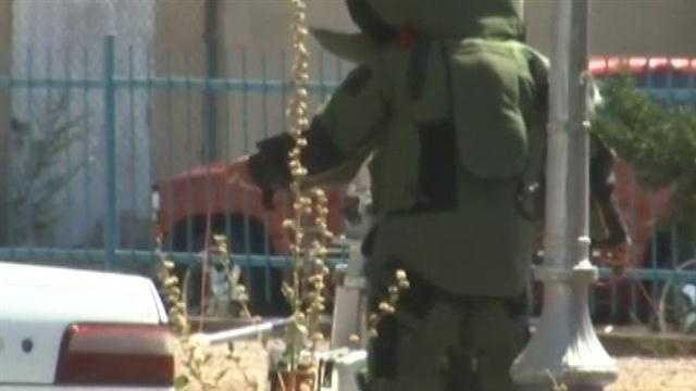Pipe Bomb found in Sante Fe