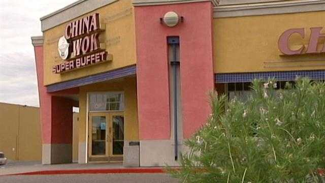 A Chinese restaurant in northeast Albuquerque was hit with a red sticker following a recent inspection by the Albuquerque Environmental Health Department.