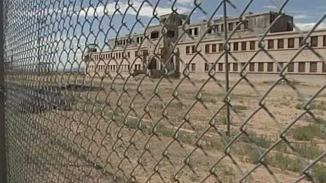 Old movie props left at state prison