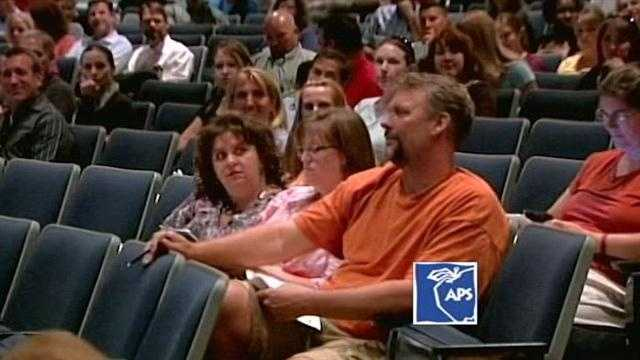 Parents sounded off Monday night about overcrowding in Albuquerque Public Schools.