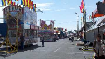 Thursday, September 13: First Full Day of the New Mexico State Fair. Carnival, exhibits, livestock shows, etc. open at 9 a.m.