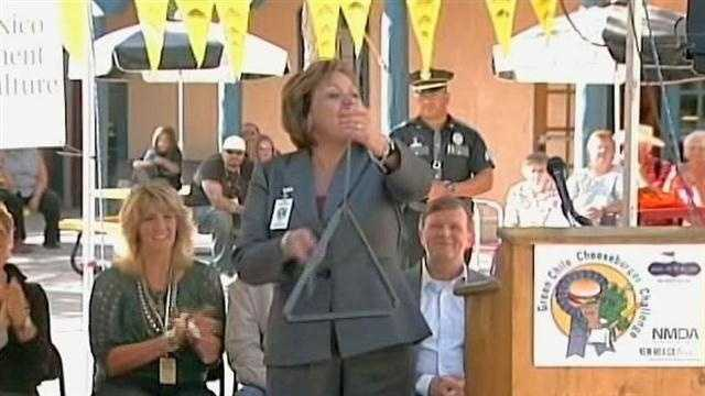 Gov. Susana Martinez kicked off the competition