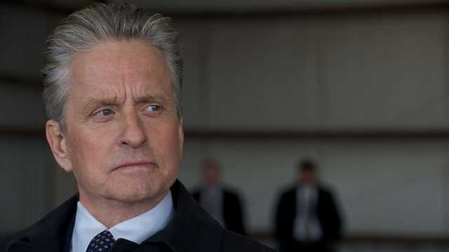 """2011: Michael Douglas in a scene from the action movie """"Haywire."""""""