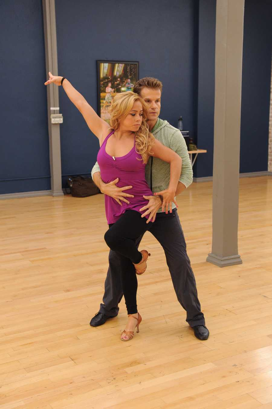Cheetah Girls member Sabrina Bryan and Louis van Amstel have a lot to work on. Bryan finished lower than any other all-star in her previous season when she placed seventh.