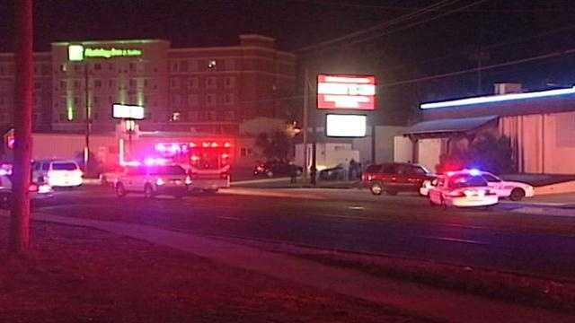 Shooting at strip club sends two to the hospital