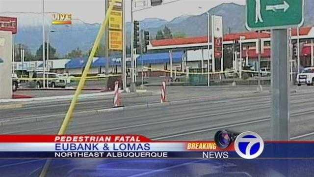 pedestrian fatal accident