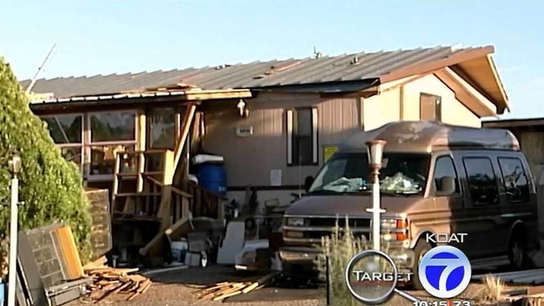 Tanya's trashed home