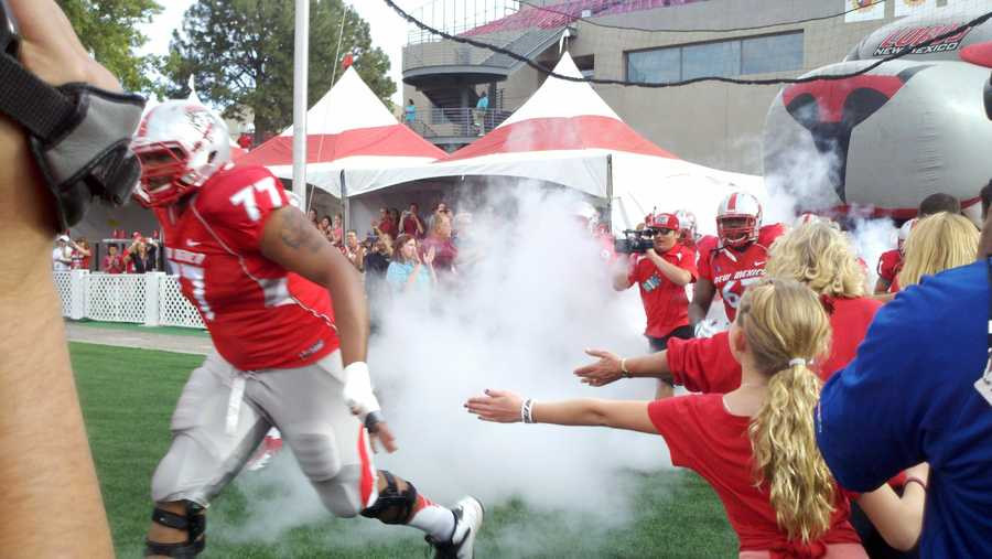 The New Mexico Lobos continued their season of improvement on Saturday with a 35-14 win over Texas State.