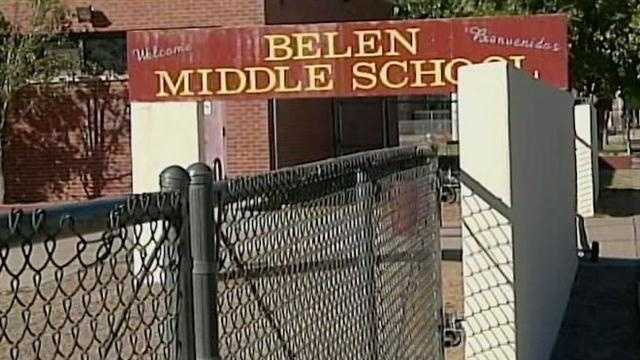 Officials said they squashed a recent plot at Belen High School.