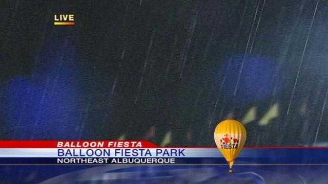 Balloon cancel rain
