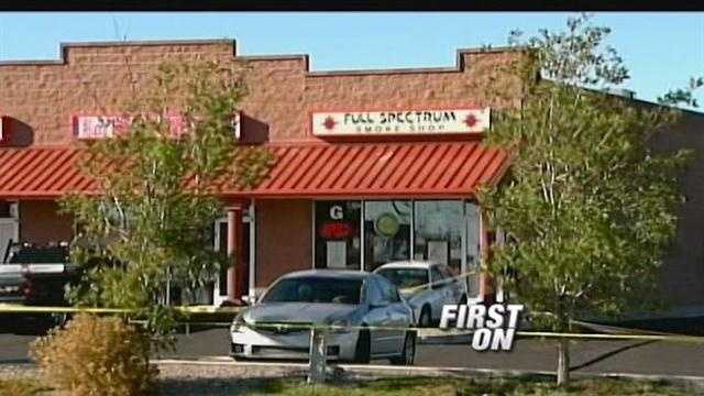 A would-be robber is dead after he was possibly shot by an armed store employee, authorities say.