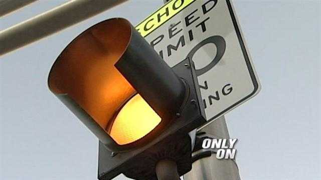 As drivers head out today, police want you to slow down when you see flashing lights in a school zone.