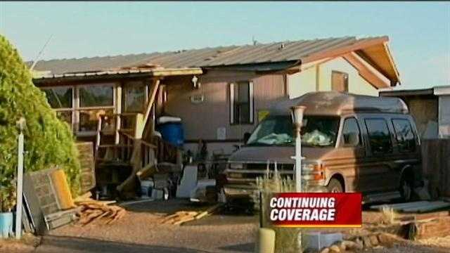 Time is up at a northeast Albuquerque house that neighbors say looks more like a junkyard.