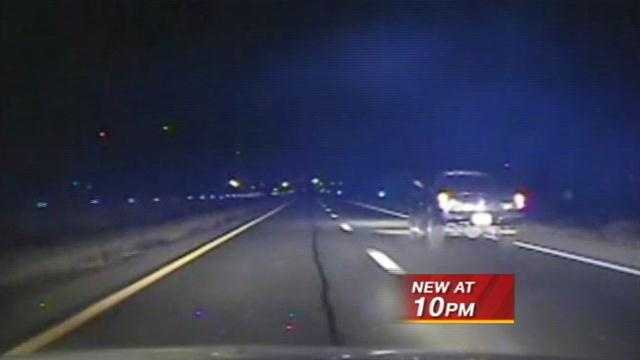 Dash Camera captures high speed chase in Santa Fe
