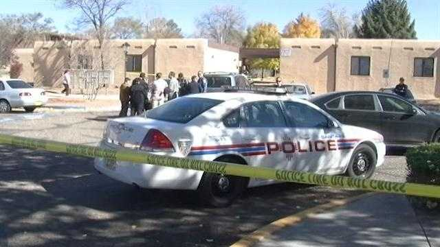 Santa Fe police are investigating a slaying at Luisa Senior Center that happened on Tuesday.