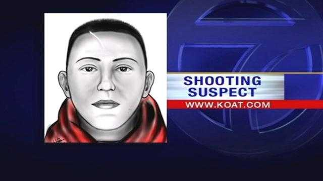 Police release sketch of Kirtland shooting suspect