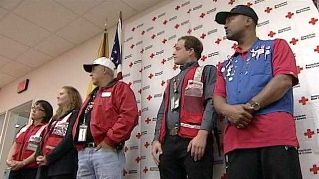 Red Cross volunteers from New Mexico are headed the East Coast this week to help clean up after Hurricane Sandy.