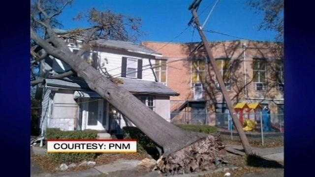 PNM sent a crew to the Jersey shoreline to help the millions who are without power because of Superstorm Sandy.