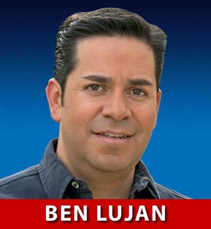 Ben Ray Lujan, D-N.M., is running for Congress in New Mexico's 3rd District. He currently holds the seat.