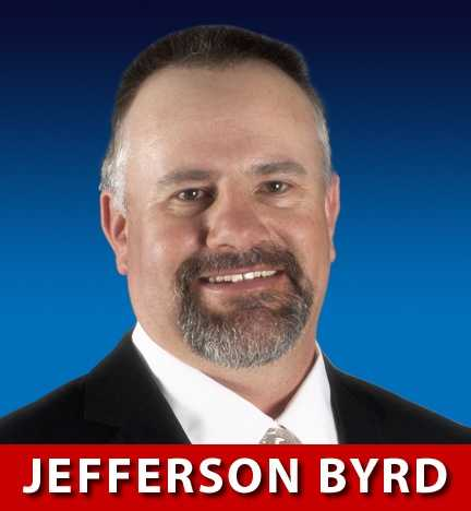 Jefferson Byrd, R-N.M., is running for Congress in New Mexico's 3rd District.