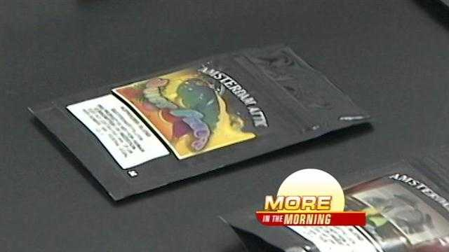 Poison control centers are warning parents to be on the lookout for new synthetic drugs with dangerous chemicals.