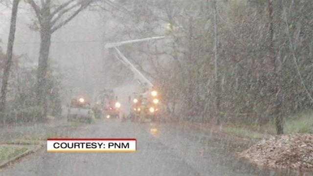 PNM crews work to rebuild following Superstorm Sandy