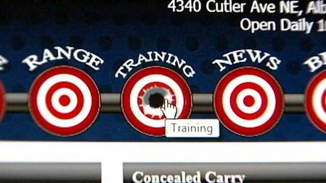 Calibers shooting range
