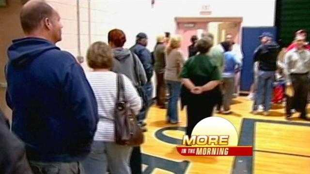 Voters in Sandoval county will be able to express their frustration about last weeks long voting lines.