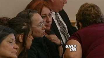 Family members in court