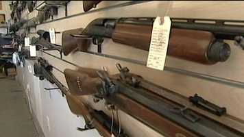 Guns as prizes for most coyotes killed