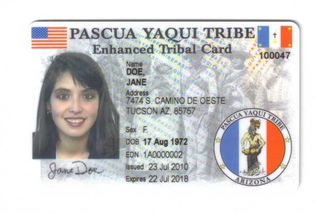 Native American Tribal Photo ID